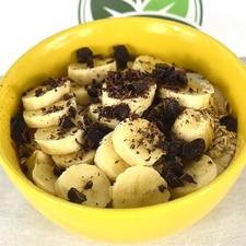 Recette de bowl aux bananes