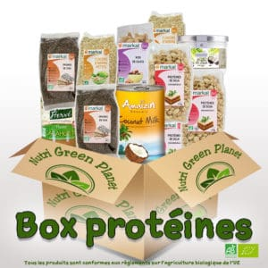 Box protéines - Nutri Green Planet