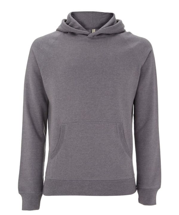 Sweatshirt gris 100% recyclé unisexe Good For Our Planet