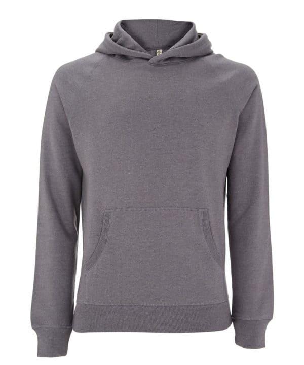 Sweatshirt gris 100% recyclé unisexe Good For Our Planet