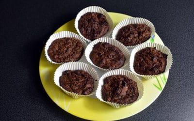 Muffins à la patate douce et au chocolat