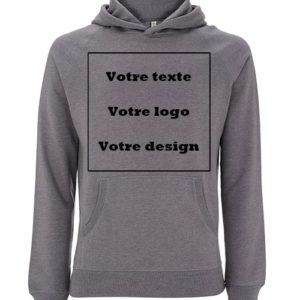 Sweatshirt 100% recyclé unisexe personnalisé