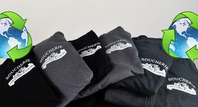 Des vêtements à partir de matières recyclées ?