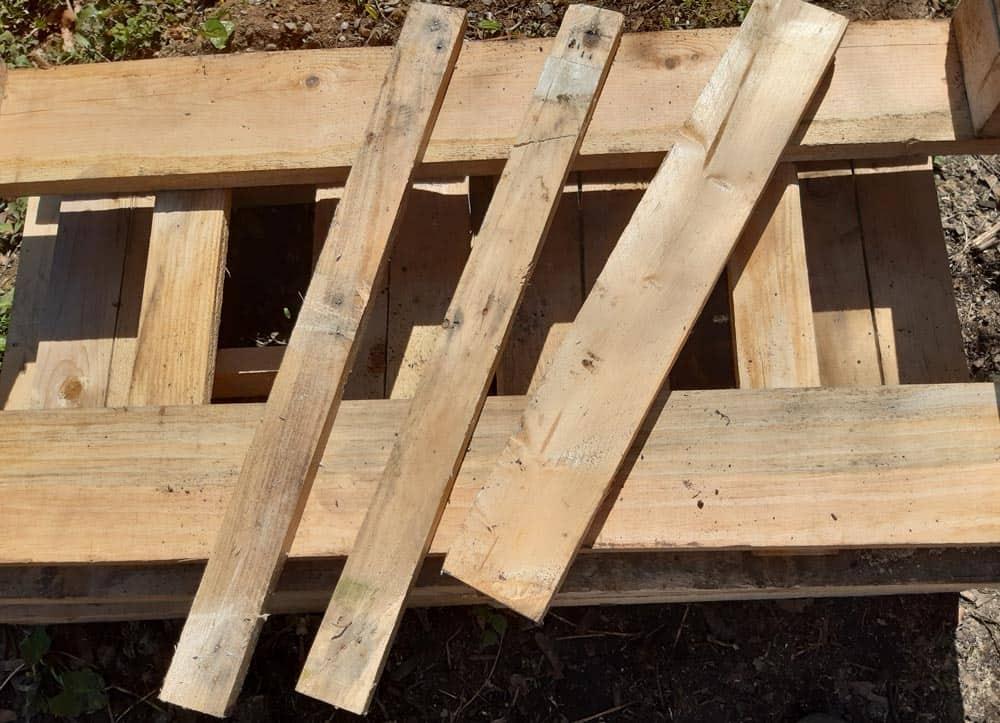 Planches pour fabriquer un tamis à terreau (Nutri Green Planet)